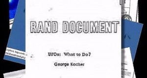 Rand Corporation UFO Research Document