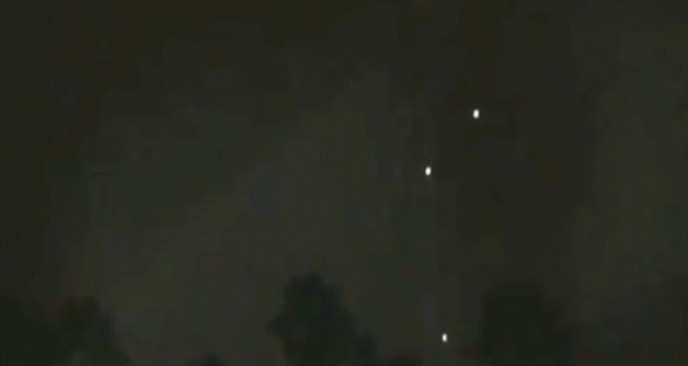 UFO Sightings Massive UFO Fleet Over LA? November 16 2013 Video