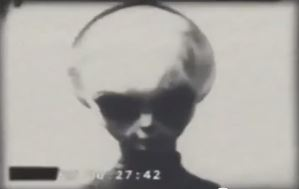 Grey Alien Filmed By KGB 1942