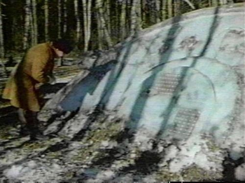 Russian UFO Crash 1968