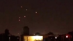 UFO Photo UFO Fleet Over Forest In Mexico City, April 12, 2014