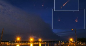 Montanus images over lake