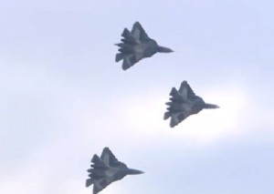 Russia Stelth T-50 Fighters
