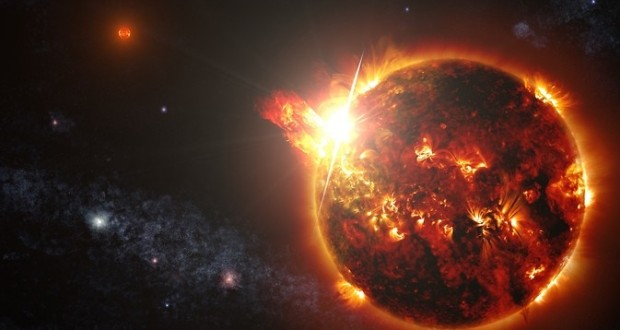 NASA's Swift mission observes mega flares from nearby red dwarf star