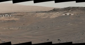 May 10, 2015, view from Curiosity's Mastcam
