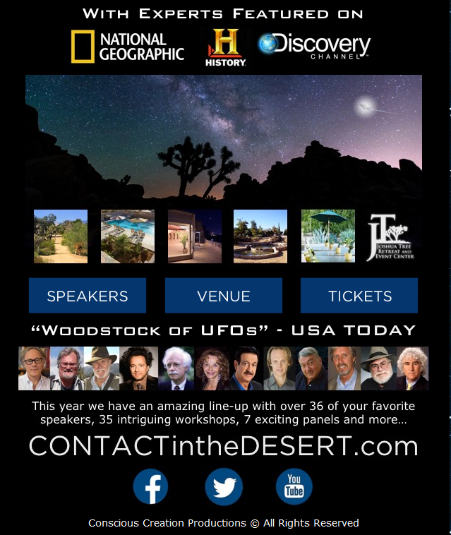 Contact in the Desert 2016