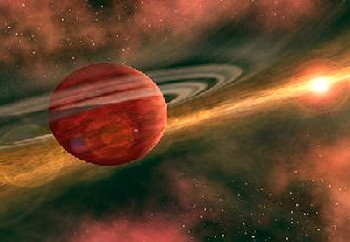 red star planets