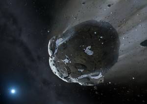 Water Discovered in Remnants of Extrasolar Rocky World Orbiting White Dwarf