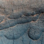 Water is thought to exist in large deposits beneath the Martian surface
