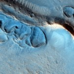 Odd and tortured raised ridges on Mars