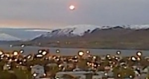 Did a UFO land in Iceland?