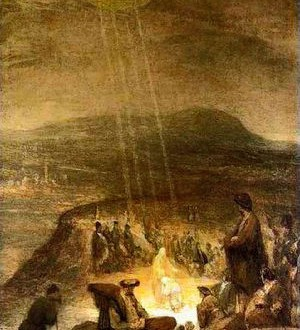 Baptism Of Christ By Aert DeGe