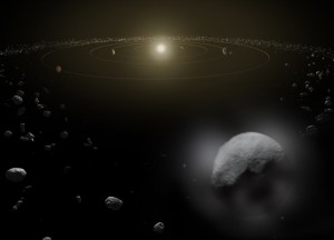Herschel Telescope Detects Water On Dwarf Planet in Asteroid Belt