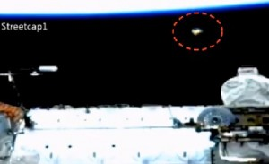 UFO at the ISS January 15, 2014