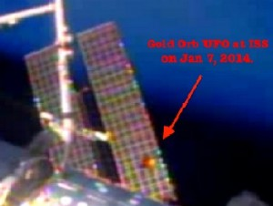 ISS gold Disk 4Jan13