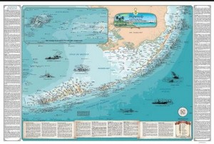 Florida Ship wreck map