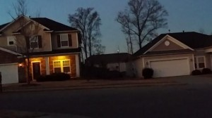 Man films UFOs hovering over South Carolina neighborhood