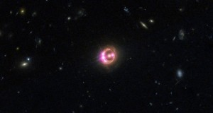 Multiple images of a distant quasar