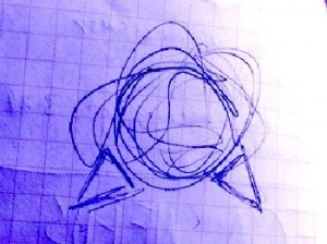 UFO Photo NC drawing