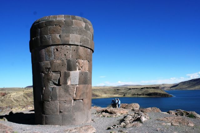 Ancient Energy Generating Towers of Lake Titicaca Peru