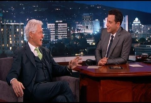President Bill Clinton on Jimmy Kimmel 2014