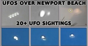 UFO Sightings: Morphing ORBS and Cigar UFO Swarm!