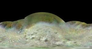 The Voyager 2 spacecraft flew by Triton