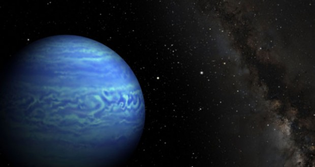 This artist's conception shows the object named WISE J085510.83-071442.5