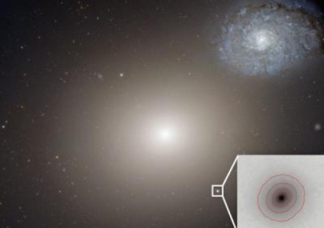 smallest known galaxy with a supermassive black hole