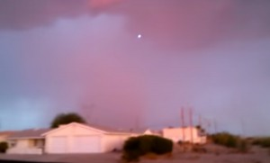 UFO over Lake Havasu City