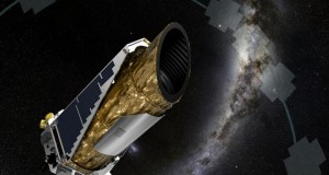 This artistic impression shows NASA's planet-hunting Kepler spacecraft operating in a new mission profile called K2. Credit: NASA Ames/JPL-Caltech/T Pyle