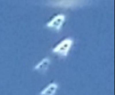 Four Triangles over Montana on June 29,, 2015