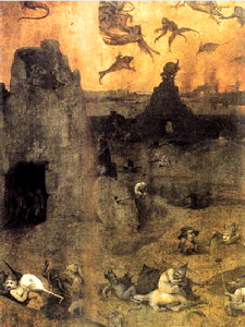 Fall of the Rebel Angels by Hieronymus Bosch