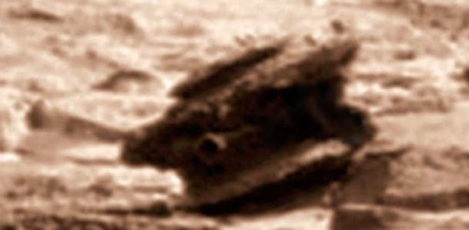UFO Bloggers: Alien UFO Drone Found Crashed On Mars (Image via Scott Waring/UFO Sightings Daily)
