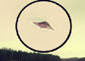 Grand Teton National Park UFO on March 1, 2018