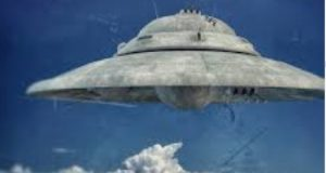 Nazi Haunebu II Type UFO seen in Antarctica