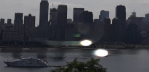Manhattan, Hudson River, New York taken on July 9, 2019