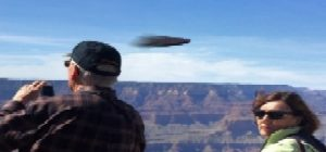 Disc over Grand Canyon, Arizona on March 8, 2020