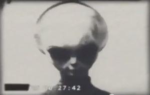 Grey Alien Filmed By KGB 1942