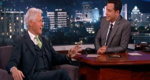 President Bill Clinton on Jimmy Kimmel 2014