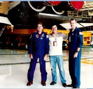 Nasa Shuttle in Hangar Mad