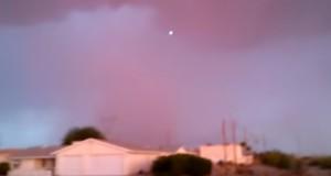 UFO over Lake Havasu City