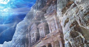 The City of Petra flooded