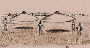 Mass UFO sighting in Australia 1966