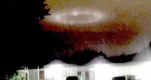 Bloomington, Minnesota circle of lights on September 30, 2018